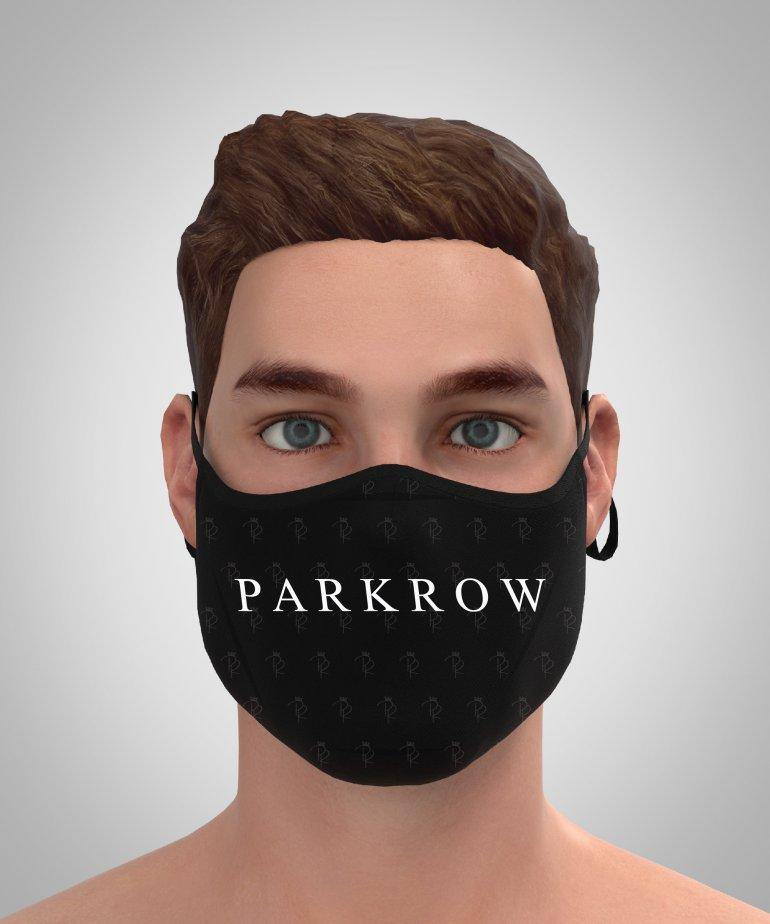 Park Row Logolu Maske