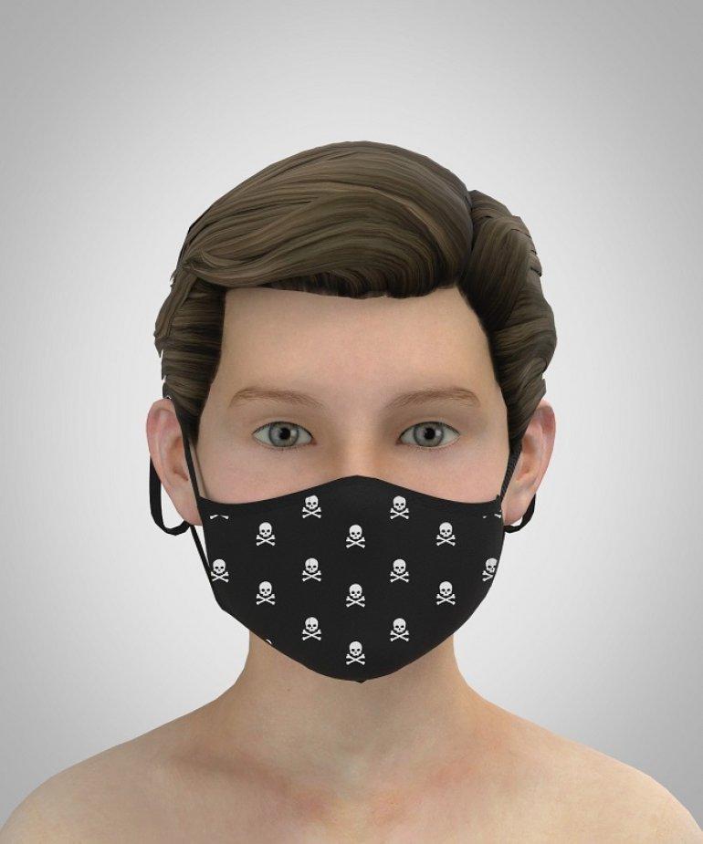 PARKROW Ayarlanabilir ERKEK ÇOCUK Maske
